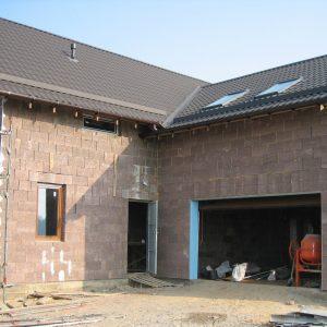 Gyvenamuju pastatu statyba