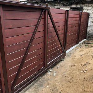 Medine tvora ir vartai - vidine puse