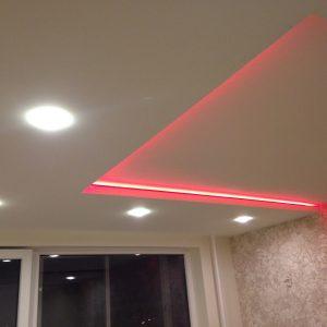 LED lubu apsvietimas