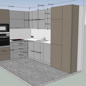 Dairis virtuves projektavimas