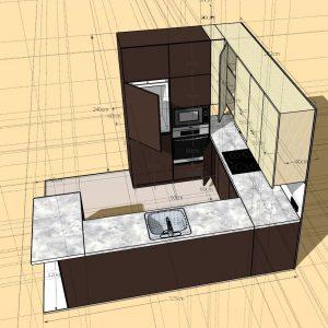 Virtuves projektavimas