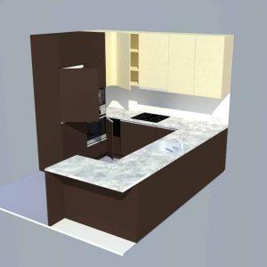Virtuves projektavimas. Dairis